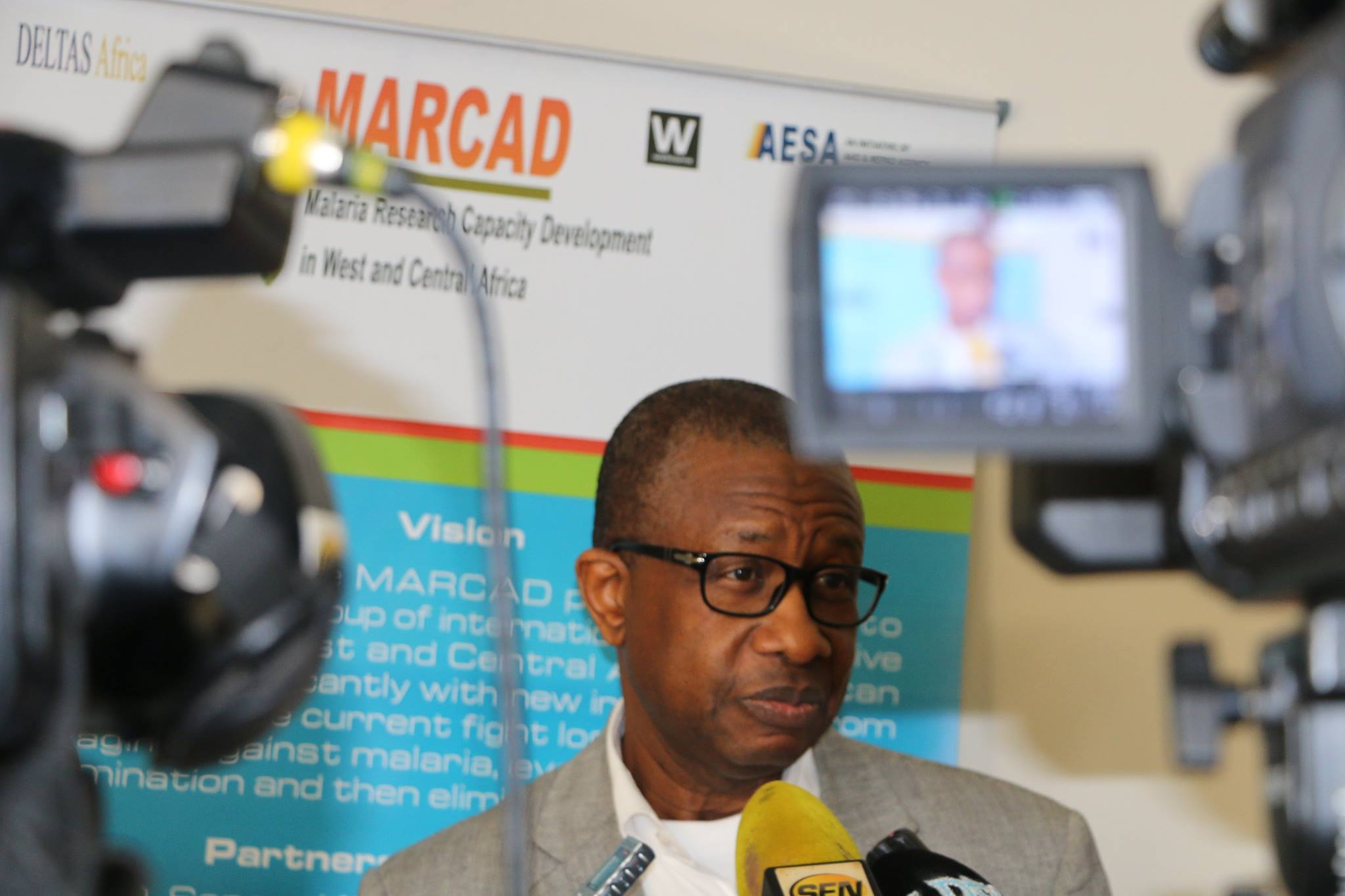 Prof. Oumar Gaye UCAD Senegal, : Director of the MARCAD Programme